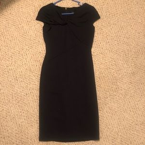 Donna Karan dress size 2 NWT navy blue